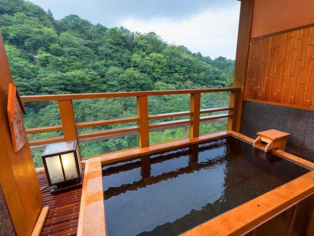 客室 伊香保 風呂 温泉 露天 付き 伊香保温泉 人気の露天風呂付客室と美味に和む宿