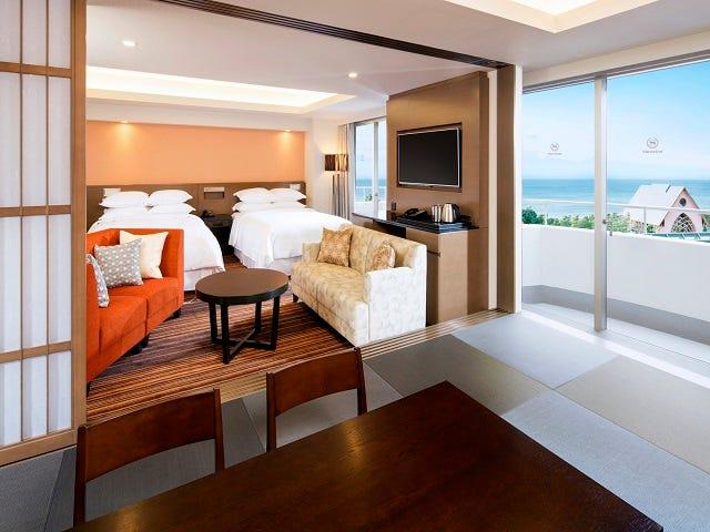 「シェラトングランデトーキョーベイホテル 6人部屋」の画像検索結果