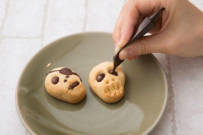 菓子 ハロウィン 手作り お