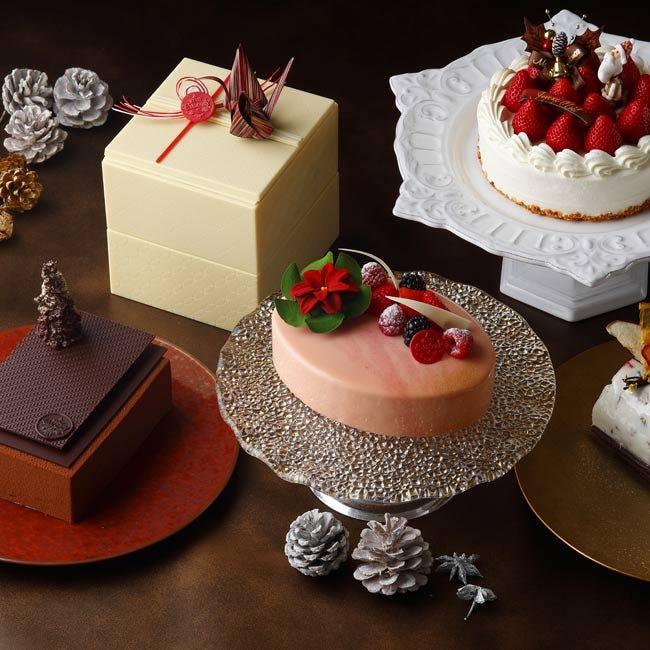 【2018クリスマスケーキ】玉手箱型ケーキも登場。東京・目黒「ホテル雅叙園東京」のプレミアムなクリスマスケーキ
