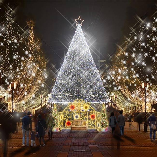 光の水族館やサンリオキャラのイルミネーションも!多摩センターが40万球の光で夢の世界に【クリスマスイルミネーション2019】