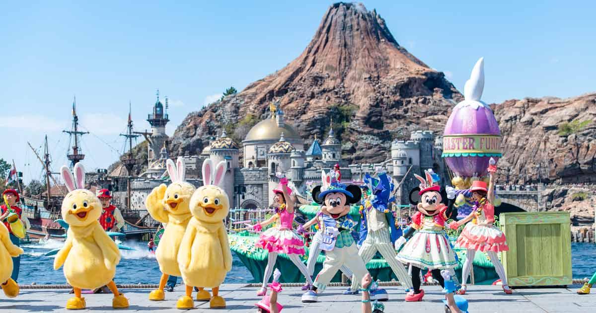 うさピヨ&ディズニーの仲間たちに会える!東京ディズニーリゾートのイースターイベント2019