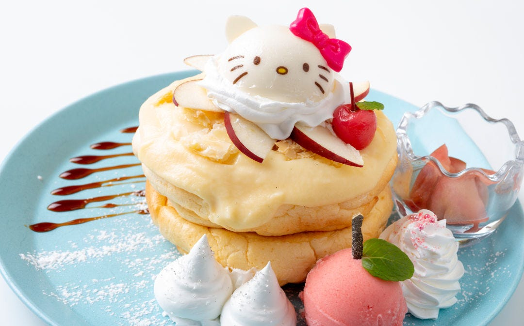 「EGG&SPUMA×HELLO KITTY 45TH ANNIVERSARY CAFE」