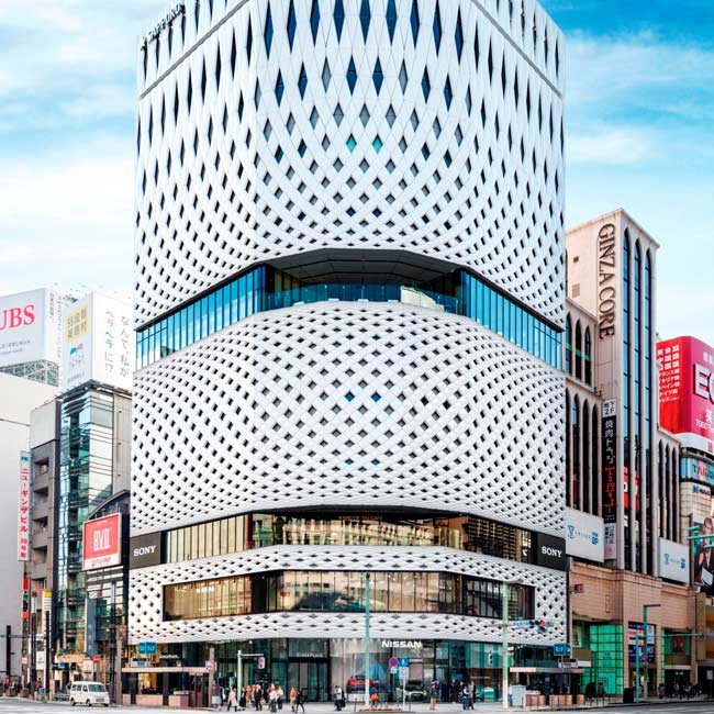"GINZA PLACEの3Fパノラマスペース"" Common Ginza"""