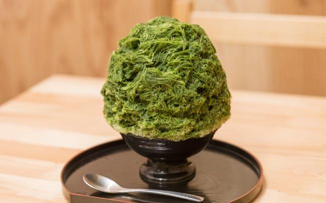 【究極のかき氷】抹茶味のかき氷7選 東京にある人気の ...