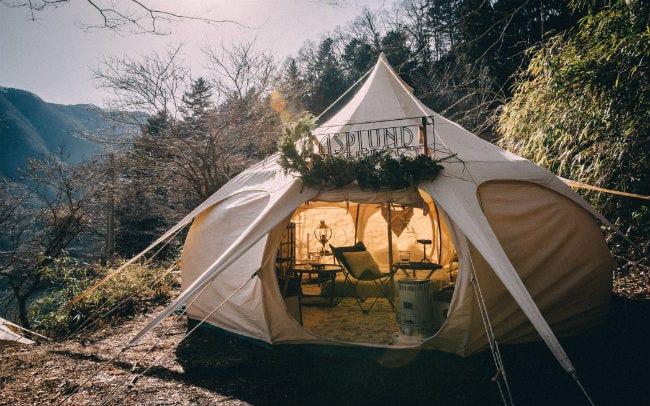 夢あふれる秘密の森で優雅な時間を楽しむ、東京都・奥多摩「Circus Outdoor TOKYO」