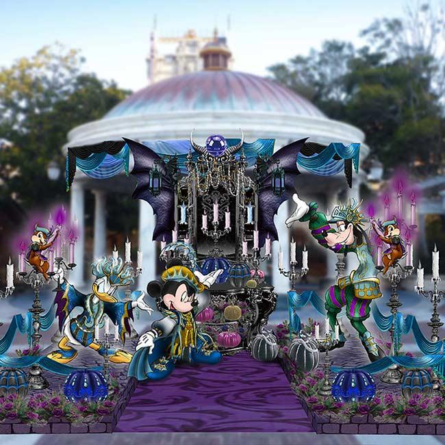 """ディズニー・ハロウィーンの見どころ2019!東京ディズニーシーの""""ダークで妖しい""""ハーバーショーは今年初開催"""