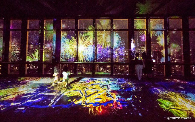 東京タワー展望台「TOKYO TOWER CITY LIGHT FANTASIA ~SUMMER OF JAPAN~」