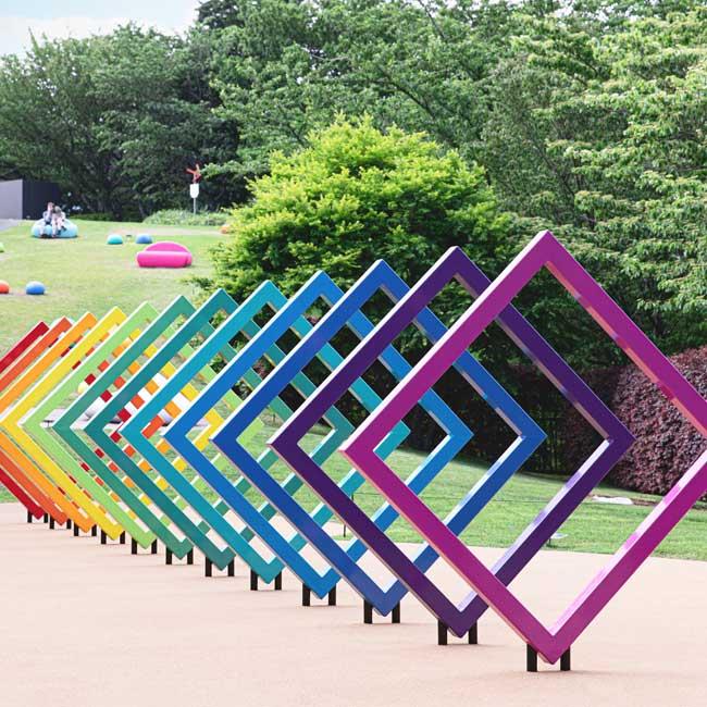 箱根・彫刻の森美術館に新スぺース「ポケっと。」が誕生!癒しの休憩スポットで空と緑とアートに浸ろう