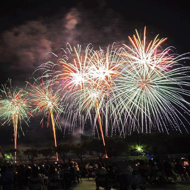 【9月8日(土)花火】最先端の技術で魅了!テーマパークも手がける職人が感動のショータイムを演出「沼田花火大会」