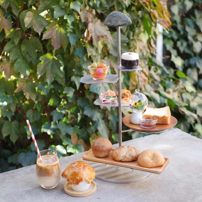 名物の食パン&持ち帰りもOK!表参道の人気カフェ「パンとエスプレッソと」にアフタヌーンティーセットが登場