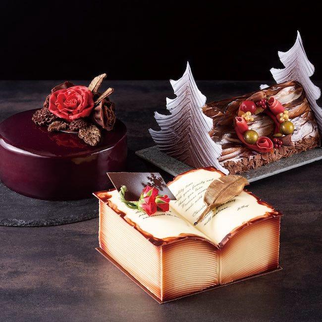 真紅のバラやストーリー性ある逸品にうっとり。美しくおいしい「京王プラザホテル」の【クリスマスケーキ2021】