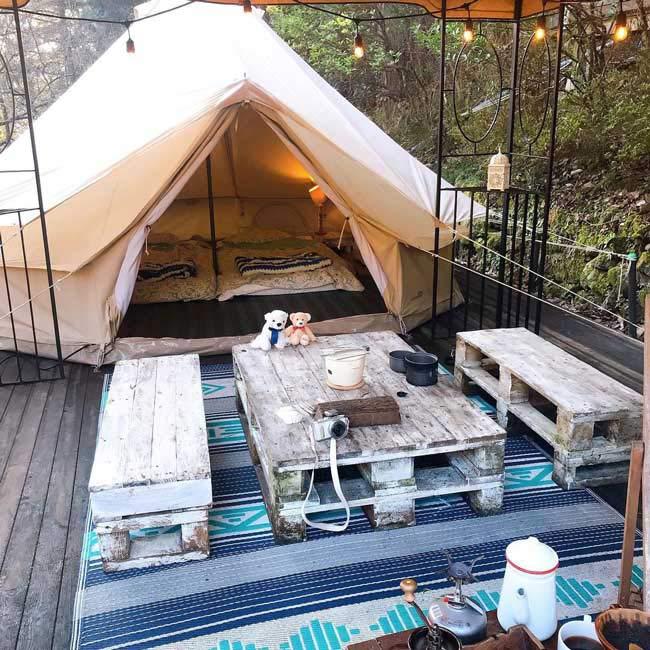 【東京にある、おしゃれアウトドア施設3選】グランピング&手ぶらキャンプが楽しめる!実際に訪れた人の口コミも