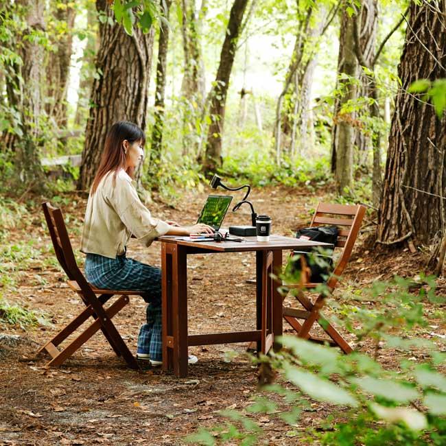 森林テレワーク×美食の旅で心リフレッシュ。大自然のリゾートで癒しのワーケーション
