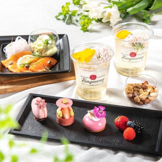 花咲くガーデンで限定メニューを満喫!東京ミッドタウンに期間限定の屋外ラウンジ「MIDTOWN BLOSSOM LOUNGE」オープン