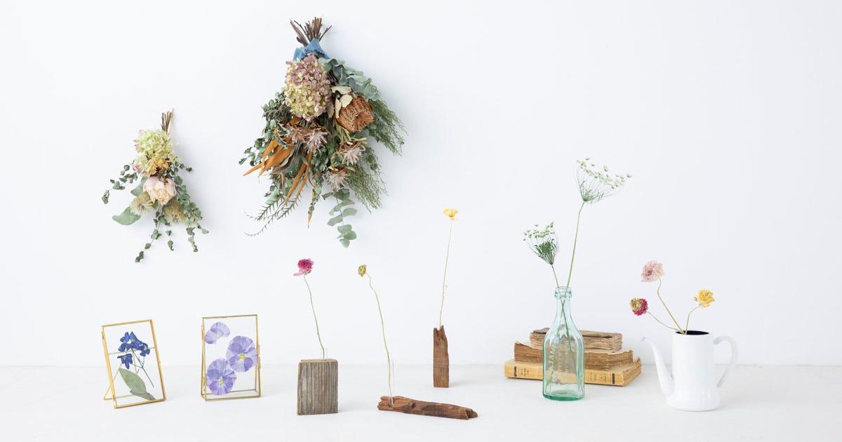 フラワーサイクリスト河島春佳さんが伝授!お花を使ったインテリア小物づくり|サステナブルチャレンジ - O...