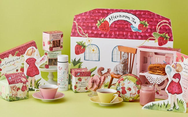 「Afternoon Tea」の春限定いちごギフト