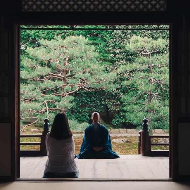 坐禅で自分と向き合う京都の朝_ローカルモーニング~朝の景色