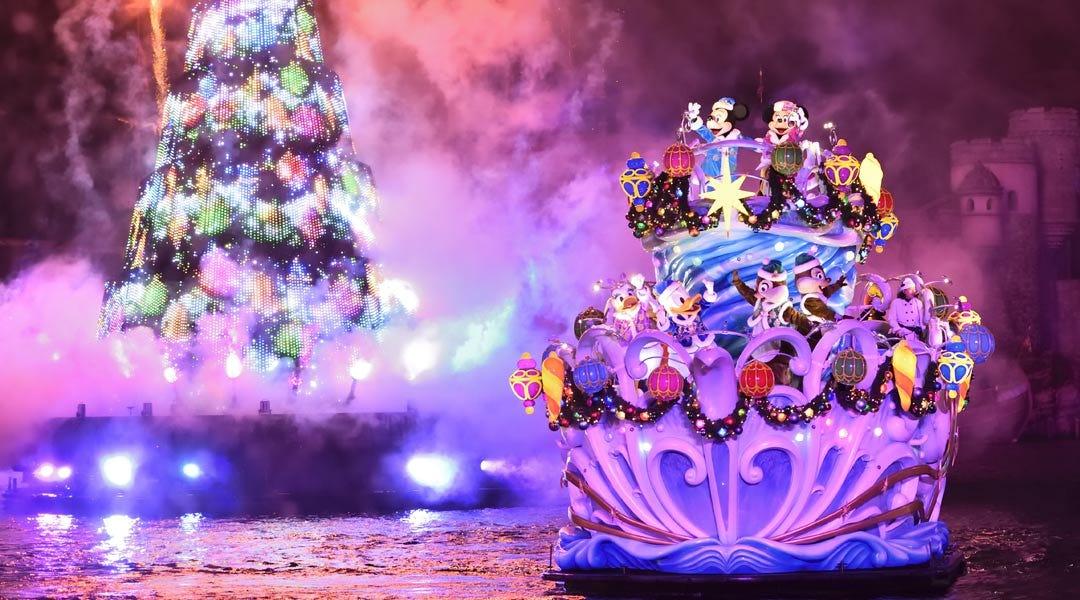 攻略ガイド東京ディズニーシーのディズニークリスマス2018パレード