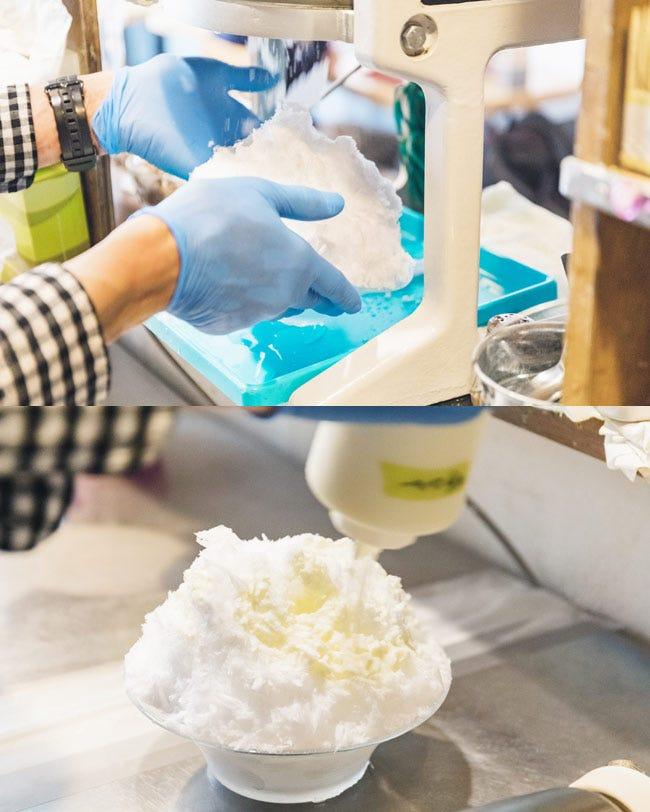 湯島「サカノウエカフェ」のかき氷の魅力1