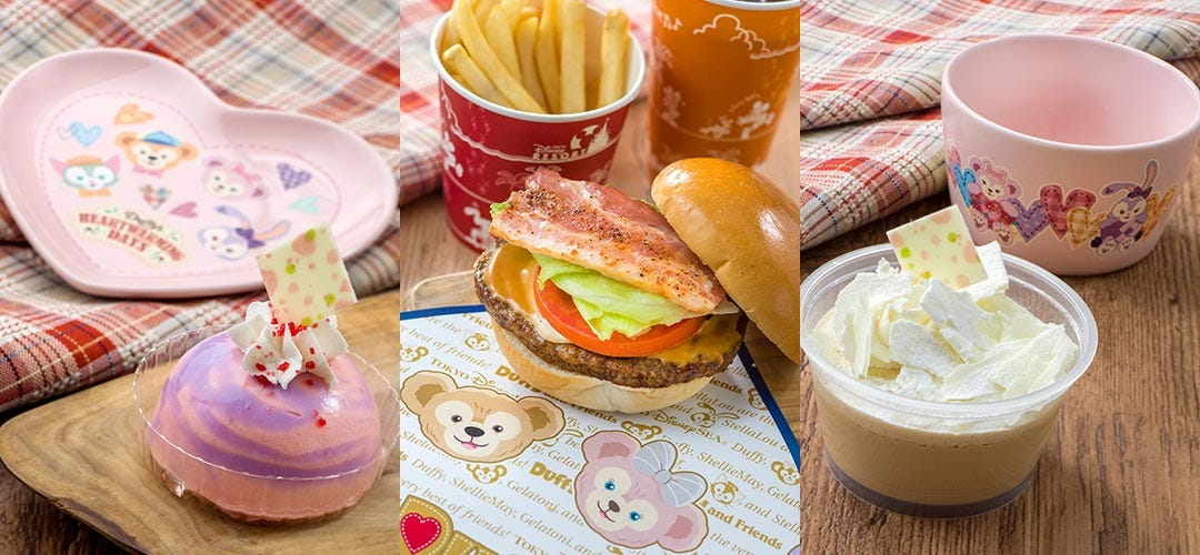 今年は料理にハートのダッフィーグッズも。東京ディズニーシー「ダッフィーのハートウォーミング・デイズ」