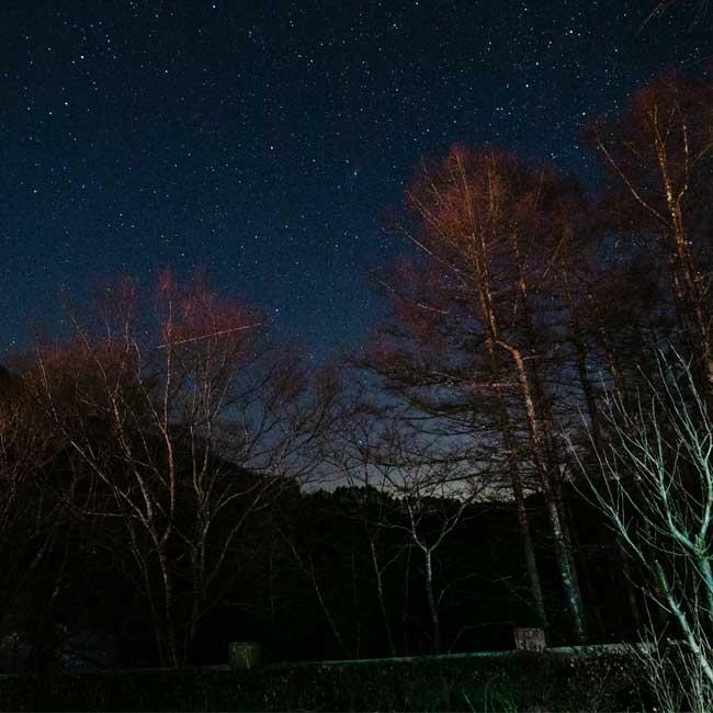 【群馬県上野村・星空編】マイナス8度の極寒の中で楽しむこたつに入って星空観賞