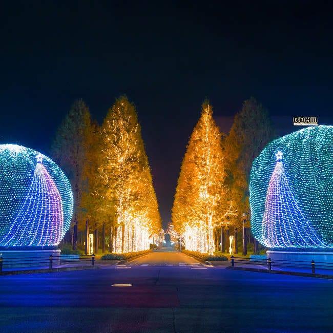 市内最大級!環境にやさしい光が京都の街を彩る「ロームイルミネーション2019」【イルミネーション2019】