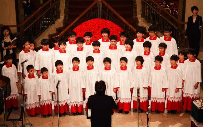帝国ホテル東京のロビーコンサート