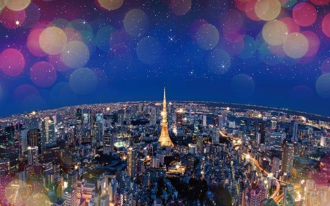 東京シティビューから望む大パノラマ夜景