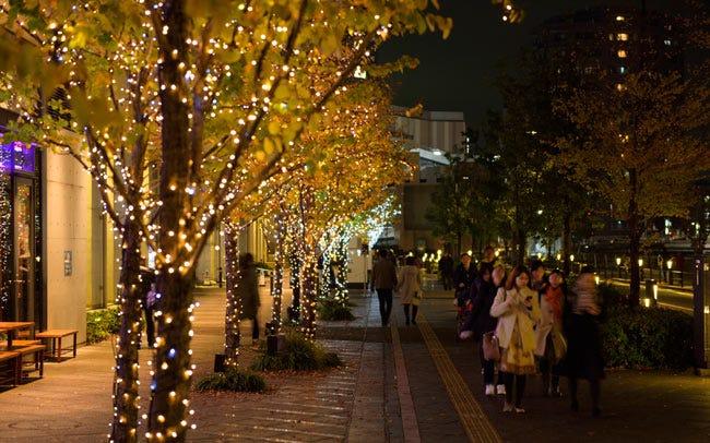 東京スカイツリーに約52万球のイルミが灯る