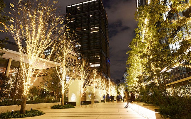東京ガーデンテラス紀尾井町のツリー
