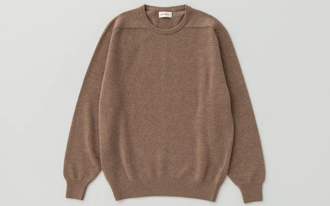 GLENMACの上質クルーネックセーター