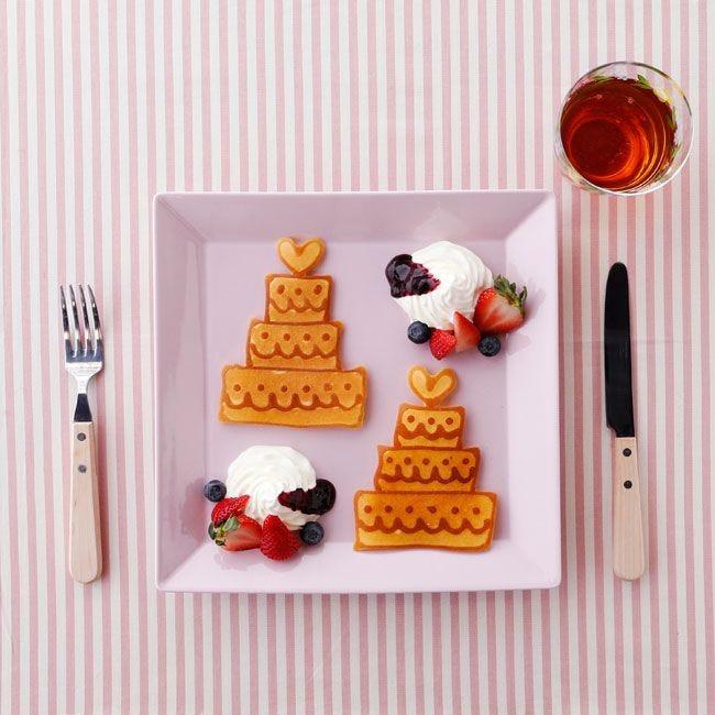 かわいいイラストがおいしいスイーツに 話題のパンケーキアートに挑戦