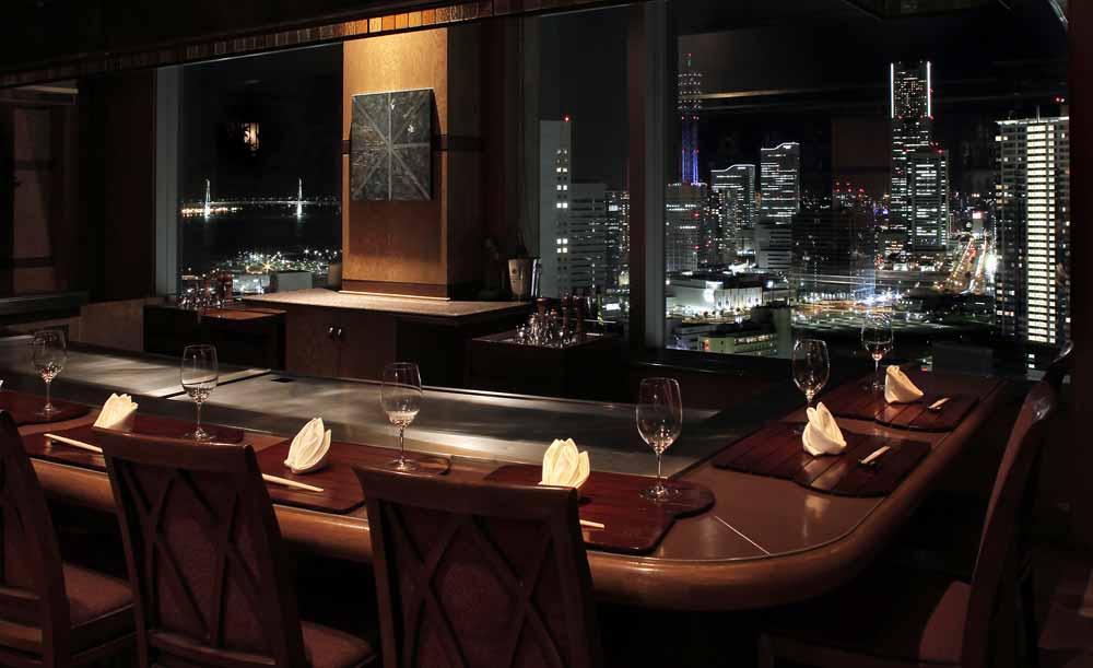 鉄板焼「さがみ」/横浜ベイシェラトン ホテル&タワーズ