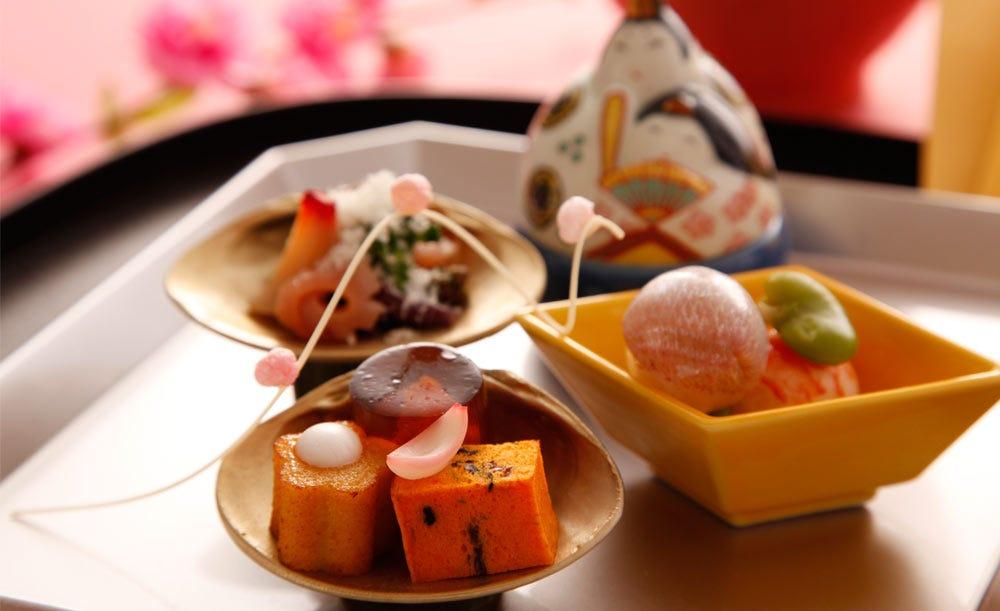 日本料理「渡風亭」【七五三★個室料無料】記念撮影&乾杯スパークリング付き!鯛姿焼きやお造り・多喜合せなど会席料理<結>