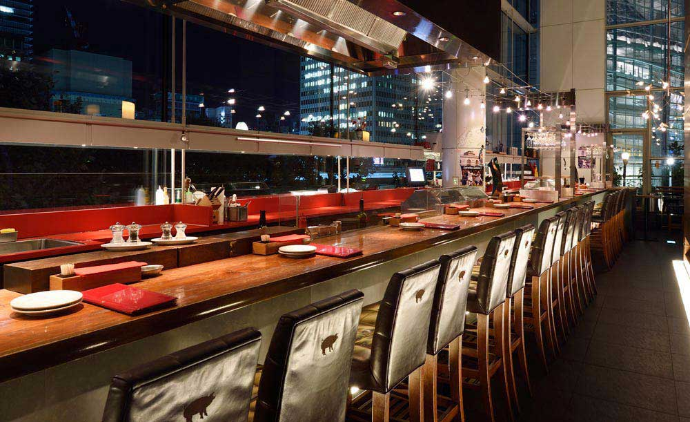 バル デ エスパーニャ ムイ bar de espana muy 東京のスペイン料理の