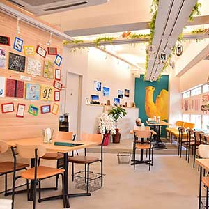 GALLERY&CAFE CAMELISH/六本木