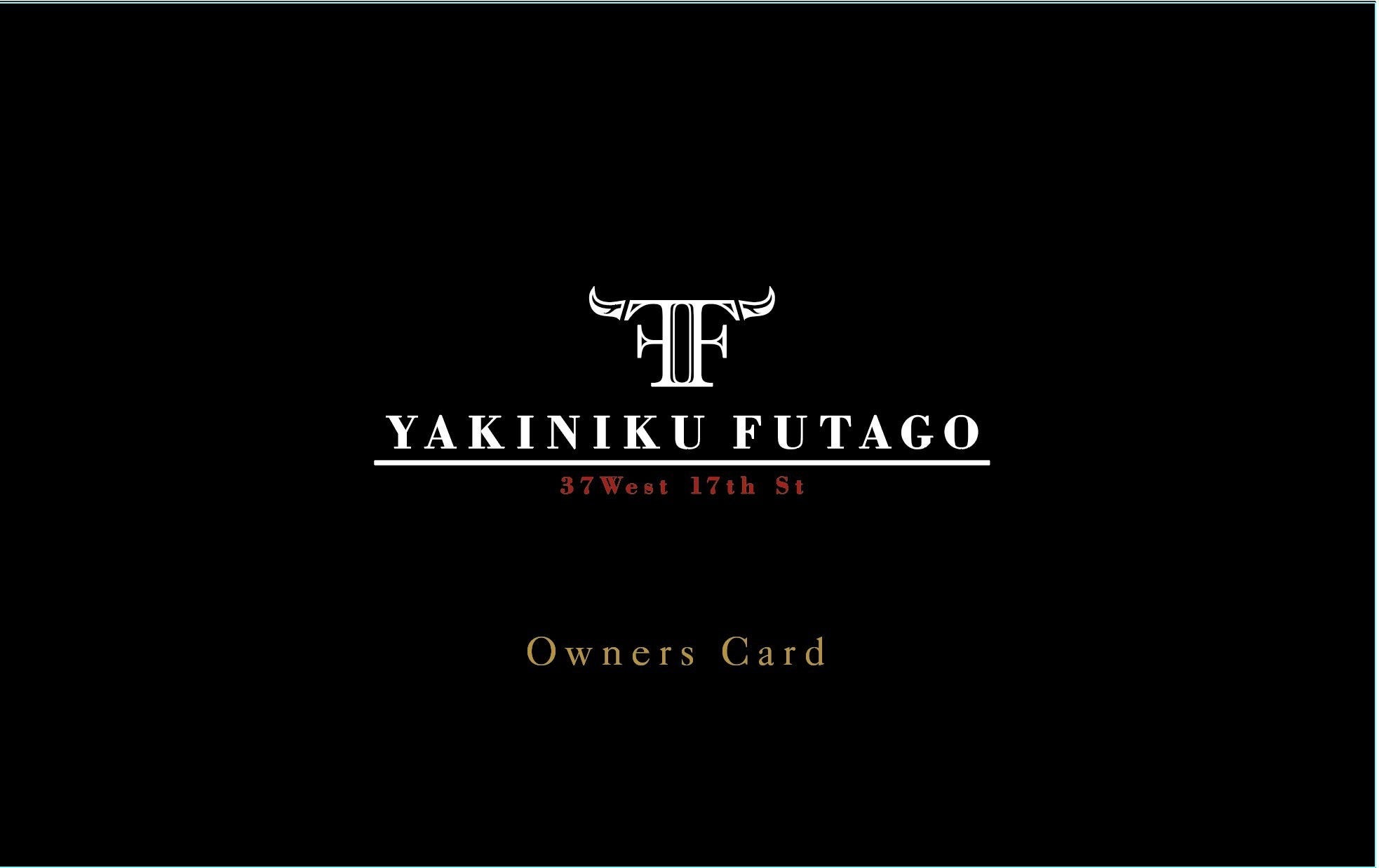 焼肉/YAKINIKU FUTAGO 37West 17th St