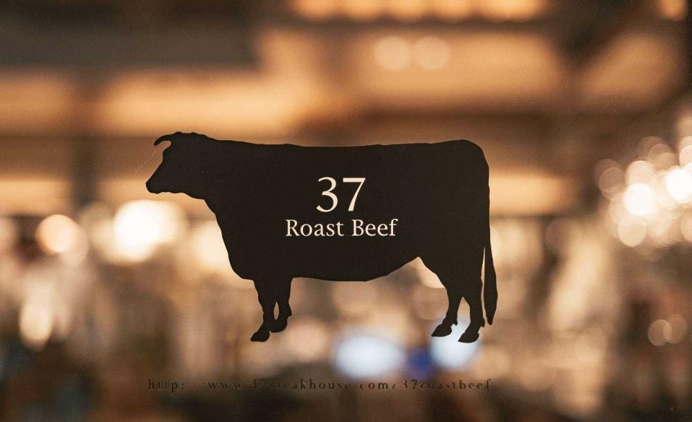 都内 絶品ランチ おすすめ 女子会 デート お肉 おいしい 人気 37 Roast Beef サーティーセブン ローストビーフ メニュー