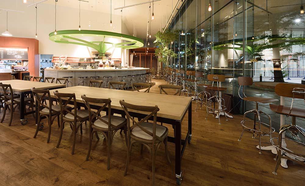 夜カフェ 東京 おすすめ 贅沢 時間 ひとり くつろげる チャヤマクロビ ザ ロイヤルパークホテル 東京汐留 店内 雰囲気
