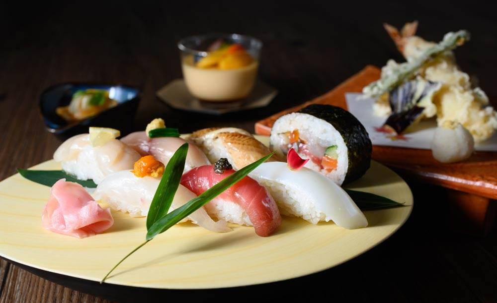割烹みなと1/4〜【天麩羅御膳】ホテルの割烹料理店で!旬の物を天ぷらでいただく、茶碗蒸し、小鉢、お造り付き御膳