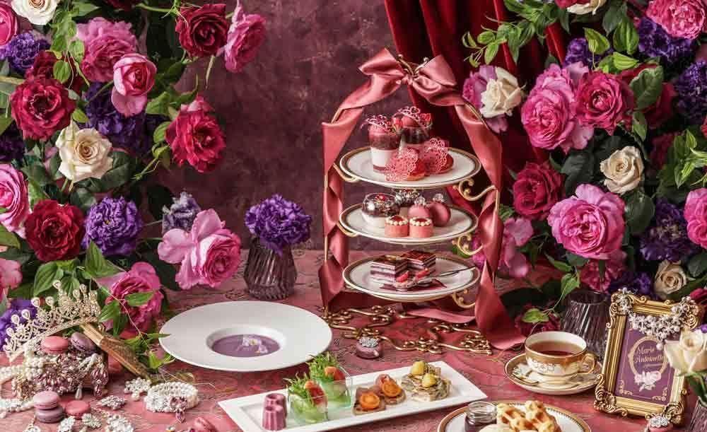 ストリングスラウンジ【OZ限定★乾杯シャンパン付き】1月31日までの期間限定!スノープリンセスアフタヌーンティー〜雪の王女〜