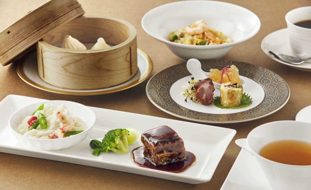 ザ ダイニング【選べるワンドリンク付き】ホテル内中華レストラン「中國料理北京」の味が楽しめるランチセット全6皿