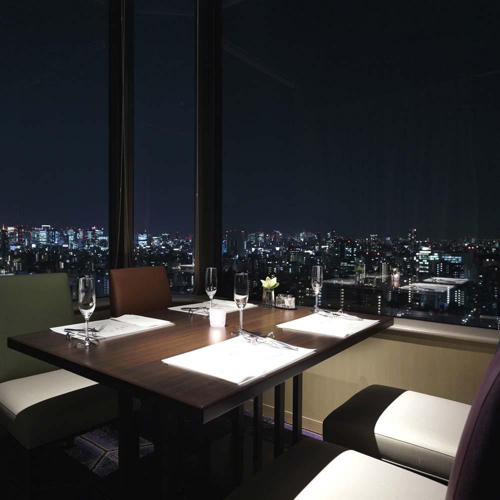THE DINING 唐紅花&蒔絵/浅草ビューホテル/特別席