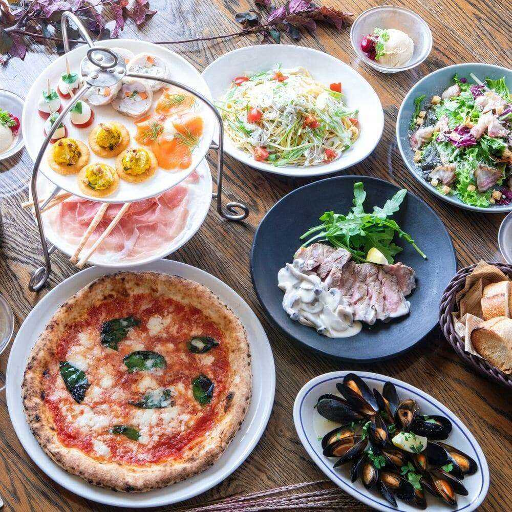 PIZZA SALVATORE CUOMO & GRILL 京都(洋食・西洋料理、イタリアン、ピッツェリア/京都府・三条)