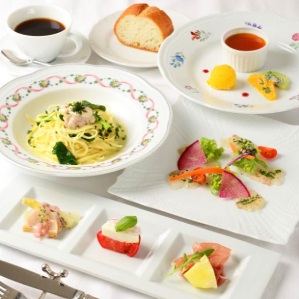 【ノルマーレ★選べる1ドリンク付き】名駅近くで楽しむ、前菜から選べるパスタ、デザートまで全4皿のお手軽コース