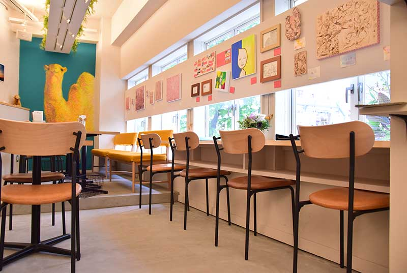 GALLERY&CAFE CAMELISH/テーブル席