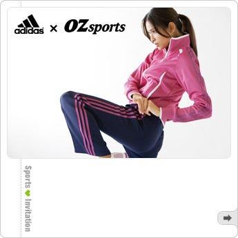adidas×OZsportsフィットネスイベント adidasとOZspo